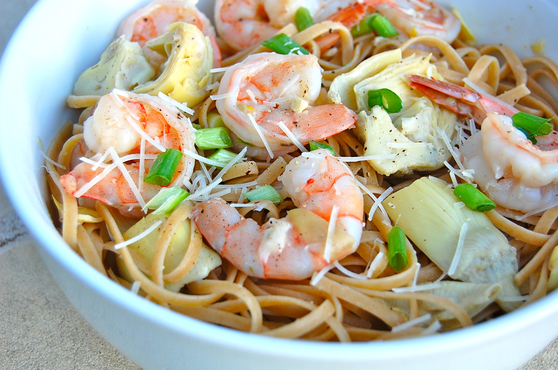 linguini shrimp scampi linguine shrimp scampi over whole wheat shrimp ...