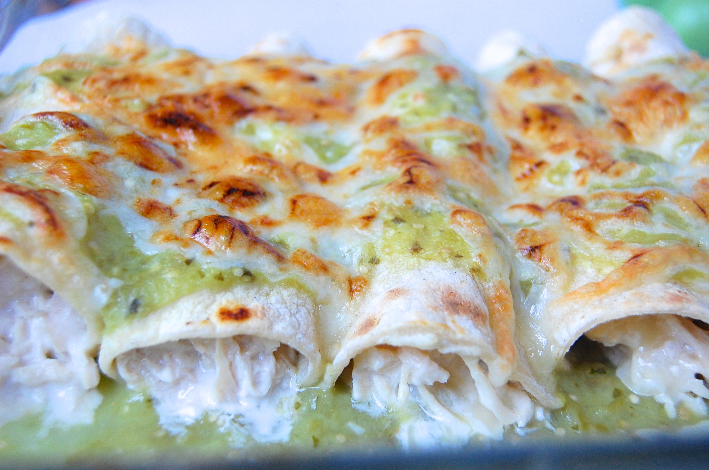 ... enchilada salsa verde and cheese chicken enchiladas salsa verde