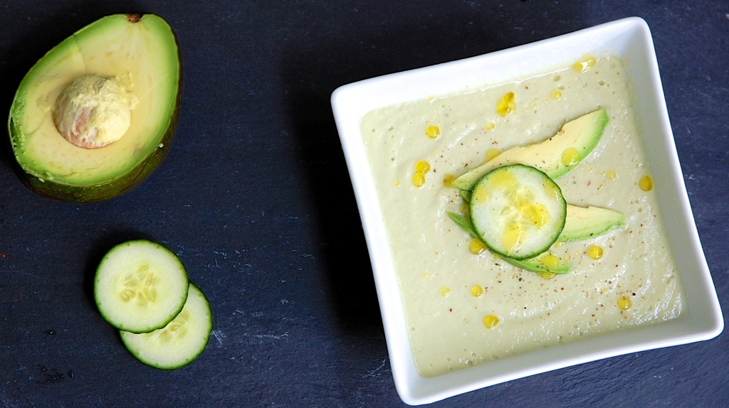 avocado and cucumber soup