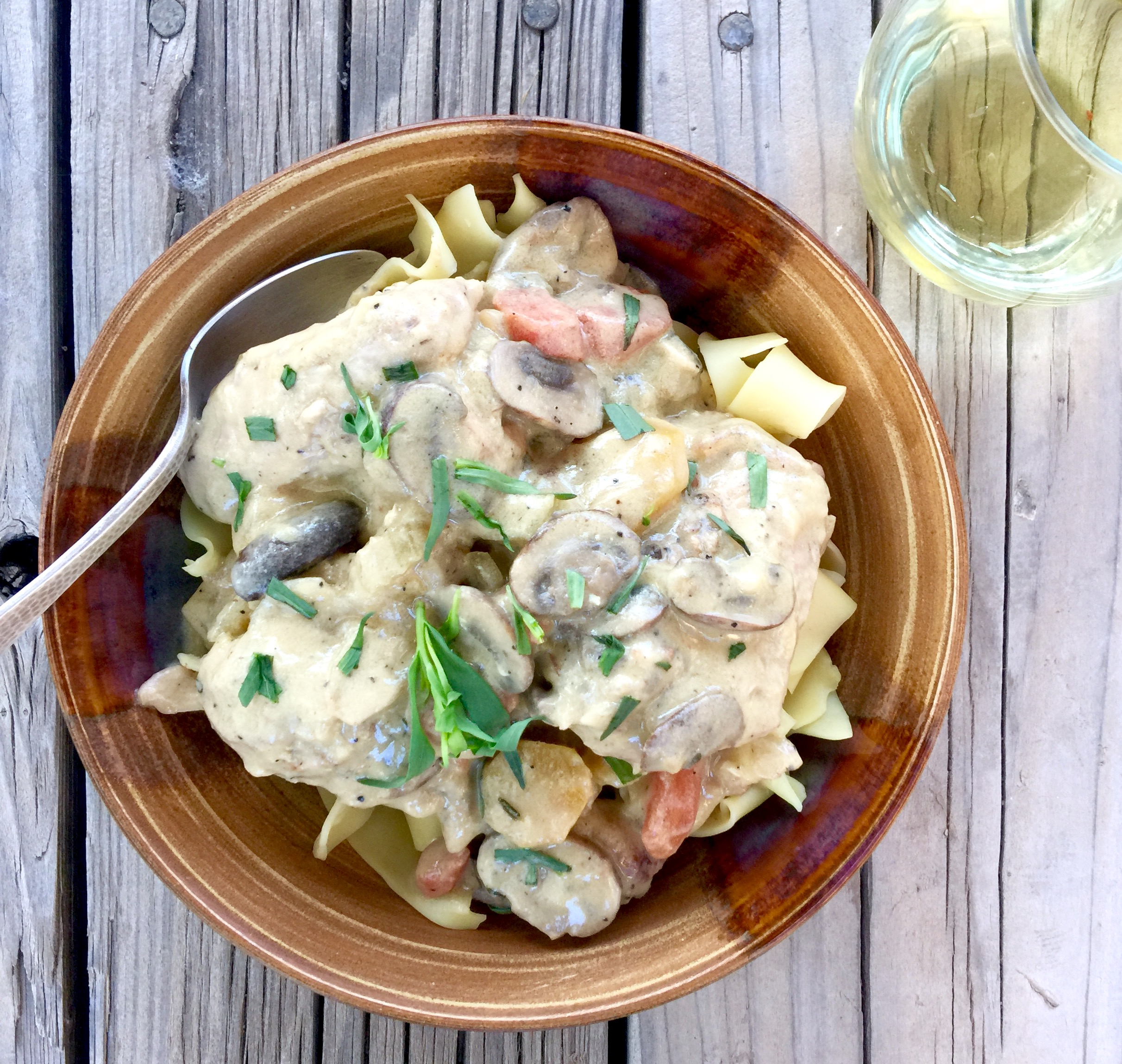 Chicken Fricassee (Fricassee De Poulet A L'Ancienne) Recipes ...