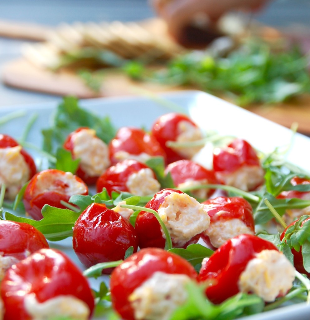 pimiento cheese stuffed peppadews
